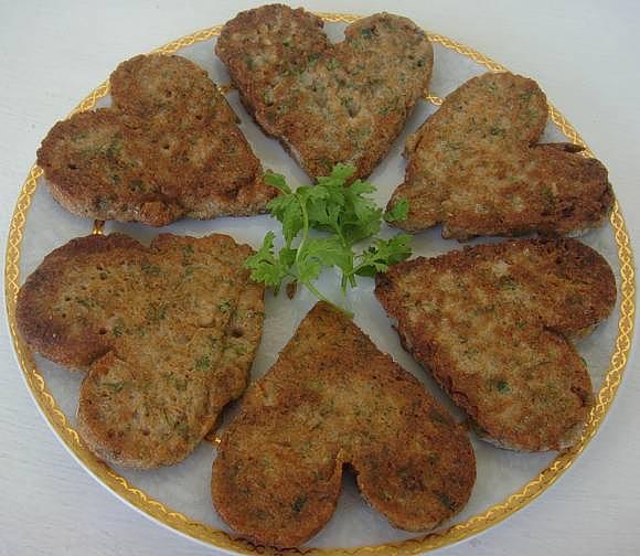 Котлеты сердце говяжье приготовления