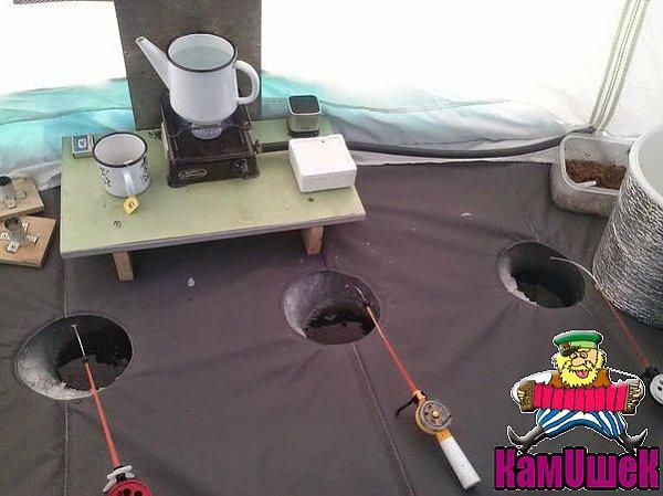 Своими руками палатку для зимней рыбалки