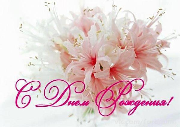 Поздравление с днём рождения лилия