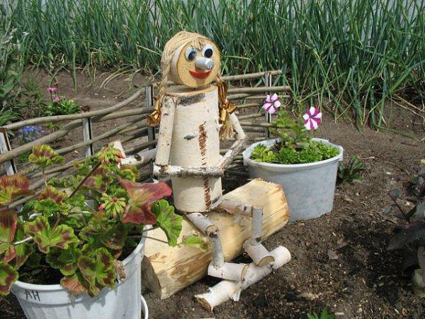 Дизайн сада из подручного материала своими руками