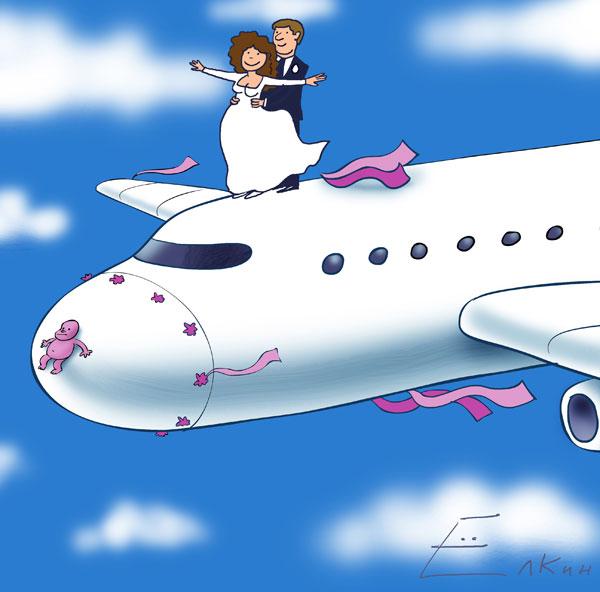 Прикольные открытки с самолетом